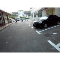 清湖停车库车位划线、图纸设计、交通行驶标线施工