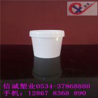 供应1L食品级果酱桶,1公斤PP塑料桶样品桶