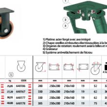工业脚轮万向轮--认准意大利Tellure rota品牌 AGV承重搬运车专用