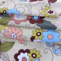 纯棉沙发布料批发厂家批发老粗布布料厂家直销床单卡通布料