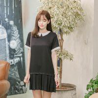 韩国代购正品夏装新款女装品牌attrangs-AR25220-短款连衣裙