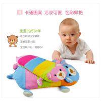 韩式纯棉卡通荞麦枕 宝宝枕 婴儿定型枕头 儿童枕头 厂家直销批发