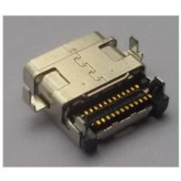 连接器USB 3.1type-c型沉版 24p端子全贴片母座