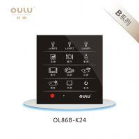 欧璐智能墙壁开关OL86-K12智能灯控开关