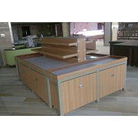 大沣货架-轻量级双面木质层格式带柜子五谷杂粮货架(DF-312)