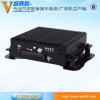 威泰科长期供应 8路高清车载硬盘录像机 带GPS/3G/WIFI模块 车载硬盘机