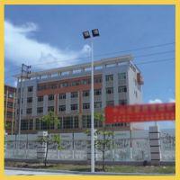 长沙市8米球场灯杆设计安装|岳麓小区篮球场灯杆高度可定做