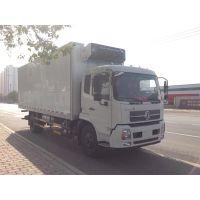 东风10吨冷藏车工厂直销7米6冷藏保温车价格