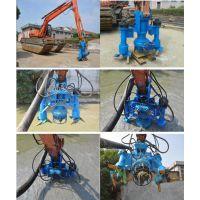 挖掘机潜水抽沙泵-液压搅拌沙浆泵-抽沙专用泵