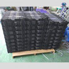 重庆盐城人工鳝巢怎么组装打孔 一组多少片厚度 人工鳝槽喂食台 河北华强13785867526