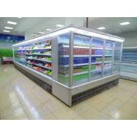 定做风幕柜 水果保鲜柜 饮料冷藏展示柜 超市牛奶摆放柜厂家批发