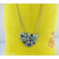 外贸原单 欧美大品牌 富贵花钻石项链毛衣链 经典款式 精致典雅
