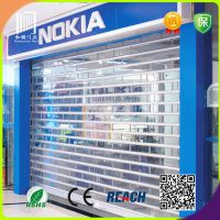 定做铝合金长条水晶片 手动铝合金长条折叠门  质量保证厂家直销