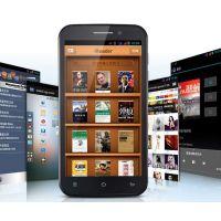 J四核智能手机 5寸1G 800万像素 MTK6589 3G双卡双待 安卓4.1