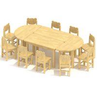 美工桌、儿童桌椅、儿童家具