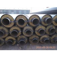 直埋聚氨酯发泡复合保温管供应价格 硬质聚氨酯泡沫保温管施工
