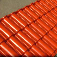 供应UPVC塑料琉璃瓦塑钢型材塑料建材凡美合成树脂瓦生产厂家