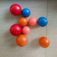 深圳兴宏发PU发泡球 多尺寸光面球 软式棒球 出口来图定制公仔