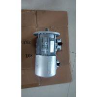 铝壳0.75KW变频电动机经常匹配铝合金涡轮减速机使用