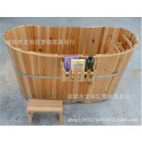 成人浴桶洗浴木桶浴缸桑拿沐浴桶安全无渗漏加强型泡澡木桶