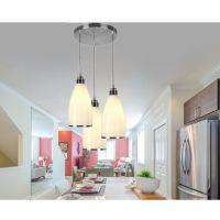 led玻璃餐吊灯创意艺术餐厅灯具现代简约吧台灯时尚
