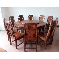厂家直销餐桌椅 餐桌系列 实木餐桌 豪华象头如意餐桌 红木餐桌