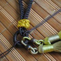 DIY玉石把玩件4.5毫米粗挂绳 车挂包挂配件绳 手机挂绳 C45