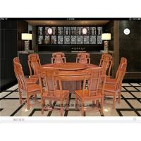 象头圆桌-缅甸花梨家具-红木圆桌-红木家具APP-新中式家具-红木价格