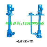 长期销售40YW12-15立式液下排污泵 无堵塞污水泵耐腐蚀液下泥浆泵