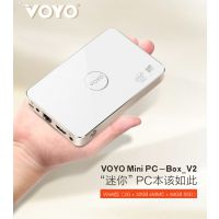 voyo mini pc v2迷你电脑2GB客厅主机标准网口接线