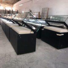 深圳液压掀起式博物馆展示柜订做厂家,博物馆展示柜供应批发,钢板烤漆博物馆展示柜制作工厂