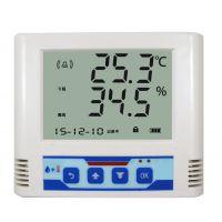 无线温湿度传感器 温湿度记录仪 液晶显示485接口