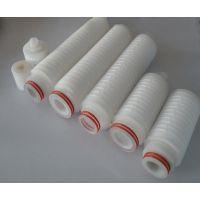 聚醚砜PES膜微孔膜折叠滤芯|聚醚砜PES微孔膜过滤器
