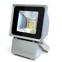 豪科100WLED泛光灯 高品质100W集成LED投光灯足瓦高亮现货供应质保3年