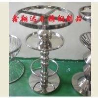 鑫翔达承制加工生产圆形不锈钢吧台吧椅(量大从优)