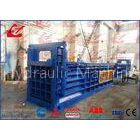 125 Ton Press Force Waste Paper Baler Hydraulic Packing Machine Witn Oil Heater / Cooler