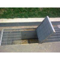 专业生产热镀锌大型压焊钢格板平台 插接钢格板 地沟盖板