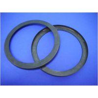 黑色带槽耐老化耐高温PEEK摩擦环圆形密封件江苏君华优质材料
