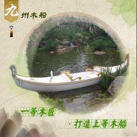贡多拉手工木船 装饰木船 欧式木船 一头尖木船 非遗手工