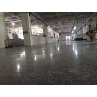 外海东南工业区车间水磨石翻新、水磨石抛光、仓库地面起灰处理