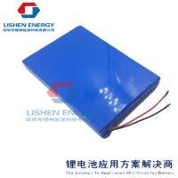 太阳能离网电池组精密仪器、检测仪电池组12v8.8ah深圳锂神能源
