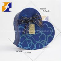 Heart Shaped Flower Packing Chocolate Packaing Hat Box Gift Box With Ribbon