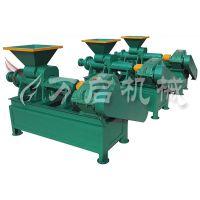 万启多管炭粉冲压机 炭粉冲压机设备 高效型炭棒成型机 节能型煤棒机