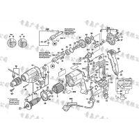 BOSCH博世GBM23-2E电钻转子 定子 齿轮 开关 碳刷 主轴