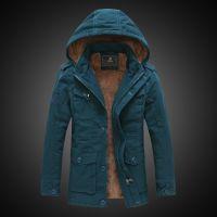 批发冬季御寒 可脱卸帽 加绒保暖棉衣加厚男式棉服Z40C158YJ89000