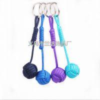 钥匙扣 伞绳 纯手工 编织 钥匙挂件 多彩 兰达饰品