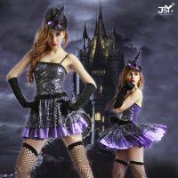 万圣节女巫装游戏制服角色扮演女式性感情趣内衣性感表演装9923