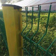 万泰现货销售浸塑铁丝护栏网 厂区围栏网 铁丝网定制