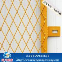 重庆施工电梯楼层防护门&威盛建筑工地安全防护网