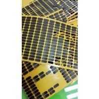 EVA泡棉 3M背胶防滑垫 EVA海绵自粘胶 黑色3mm白色圆点